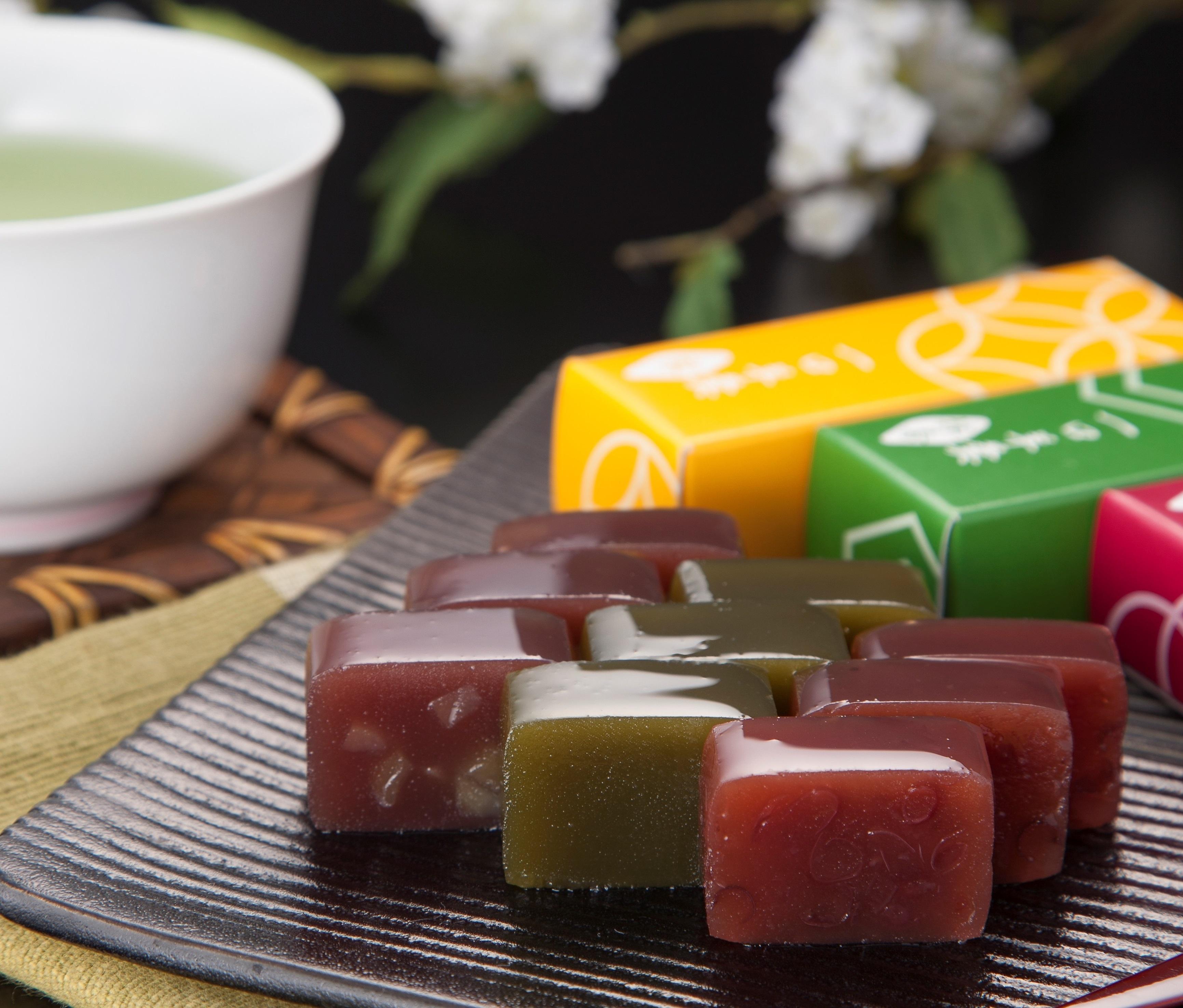 宇治茶と京の一口ようかんセット