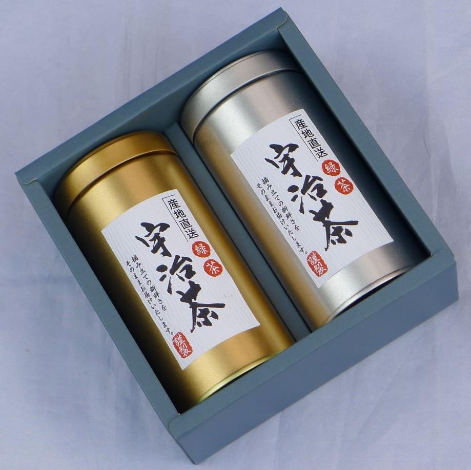 宇治茶ギフト 煎茶・玉露セット【各150g】